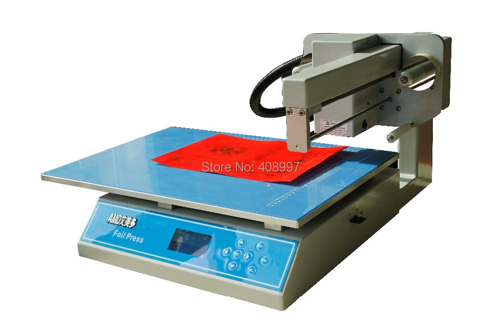 Gold foil printer - 3025, digital foil stamping machine