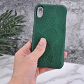 Mobile case covers custom design leather phone hard case for iPhone 8