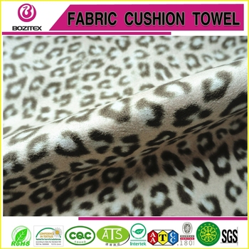 High quality printed suede fabric for bag