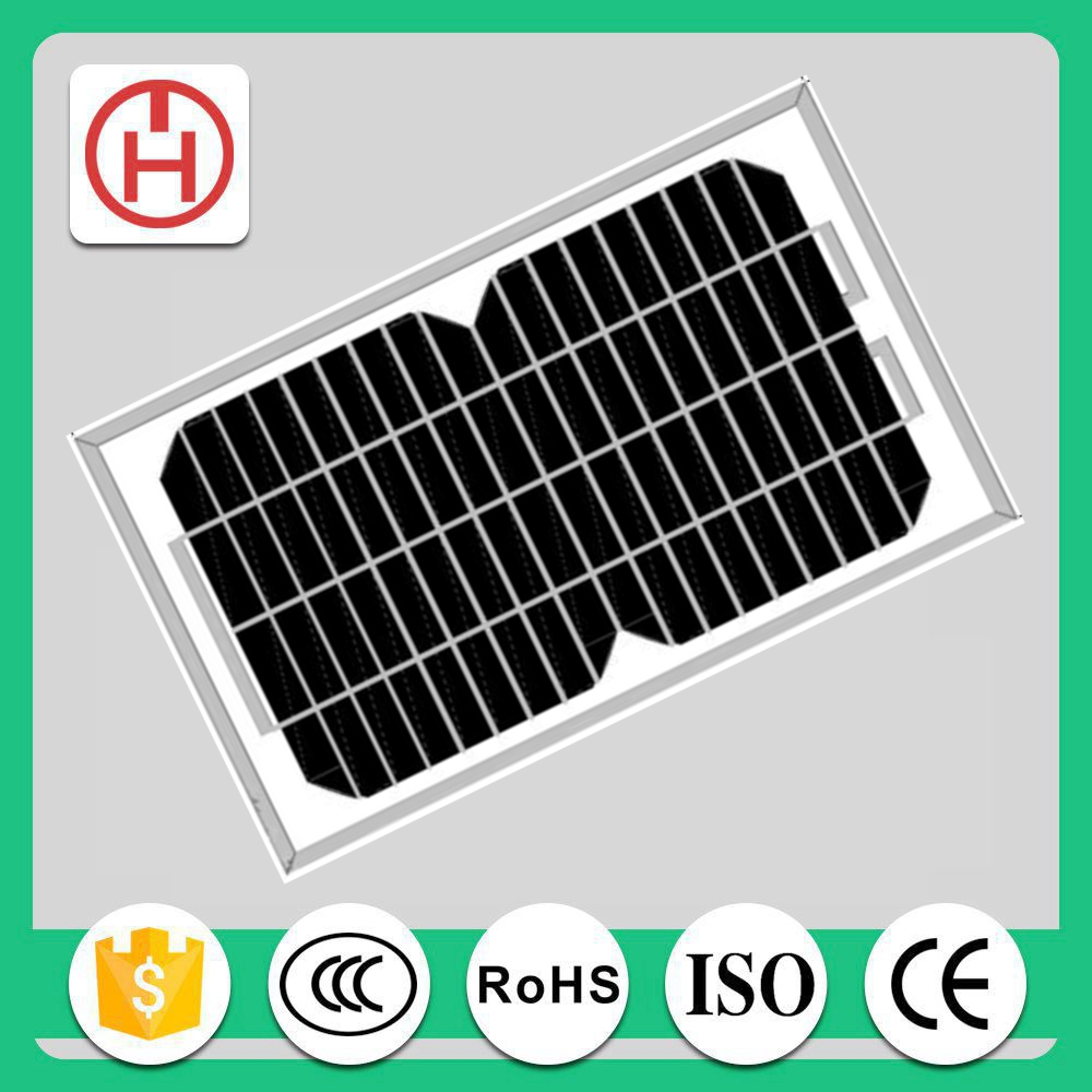 commercial cheap 12v solar panel 5w mono price with CE ROHS