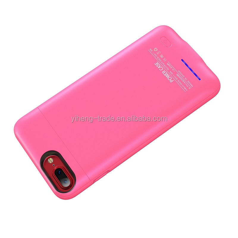 Super slim 3000mah Wireless Cell Phone Power Bank, Battery Charger Case for iPhone 6/7