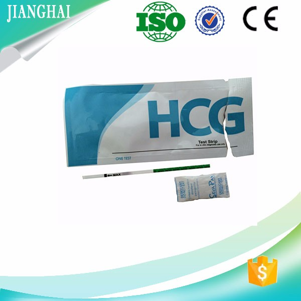 Factory wholesale women early HCG pregnancy test kit made in China