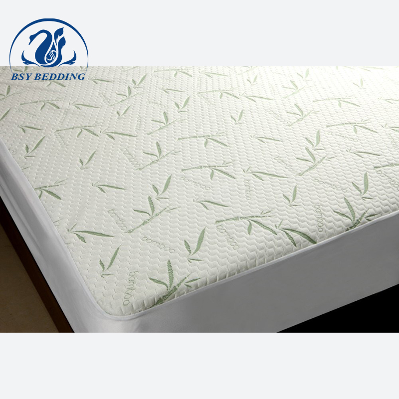Breathable Bamboo hypoallergenic Waterproof hotel Mattress Protector - Jozy Mattress   Jozy.net