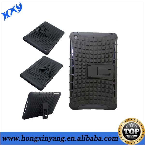 new trendy plastic pc tpu case for ipad mini