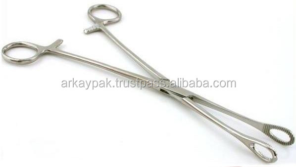 Tongue holding forceps Holding Forceps & Catheter Introducing Forceps Top Quality Stainless Steel.