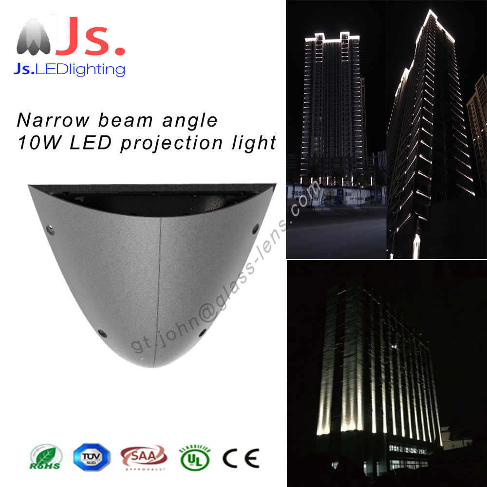 New Product Best Price Aluminum IP66 narrow beam angle LED Spotlights with 80m light spot length