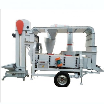 Double air selection 8 Ton per hour capacity grain cleaner machine