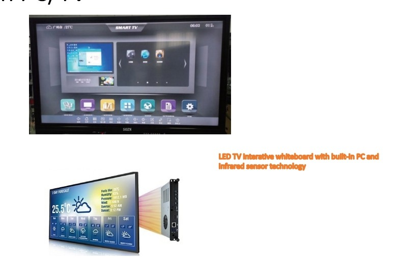 98 inch samsung touch screen pc tv all in one