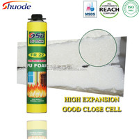 750ML FireProof spray fire retardant pu foam
