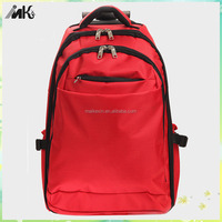 Fashion travel school backpack trolley bag for fashion girl trolley school bag