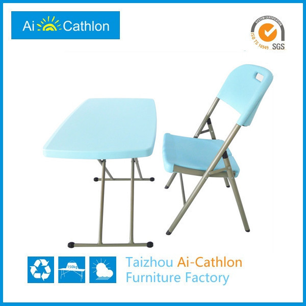 Children Foldable Study Desk,Height Adjustable Folding Study Table ...