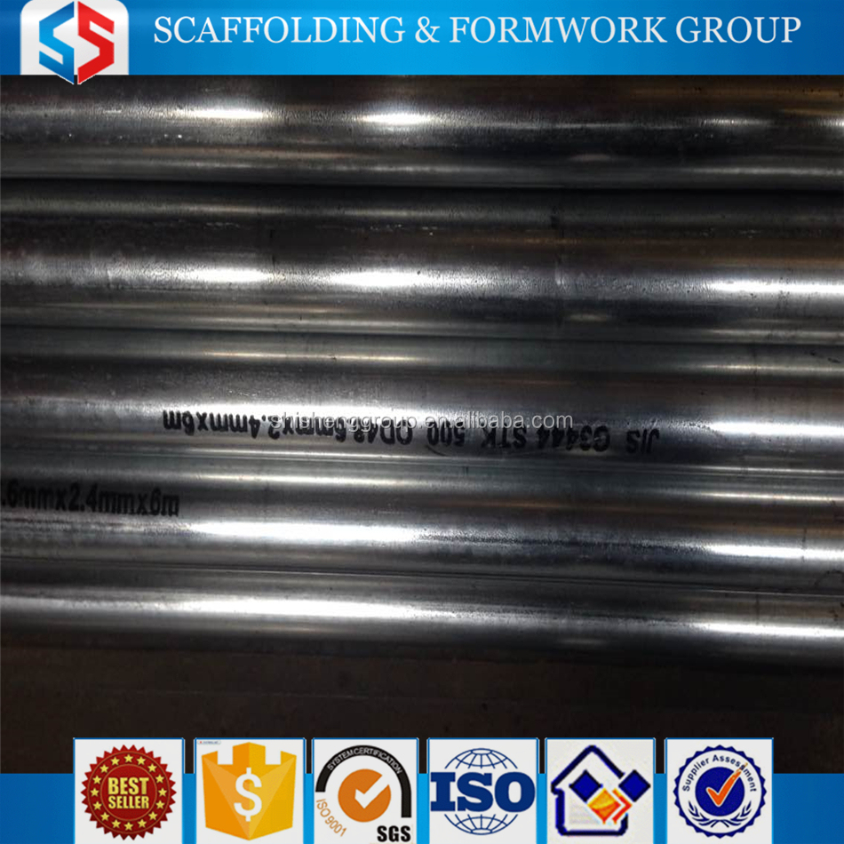Tianjin SS Group Threaded GI Pipe/Welded Pipe with Best Price Supply by Manufacturer, China Factory Selling