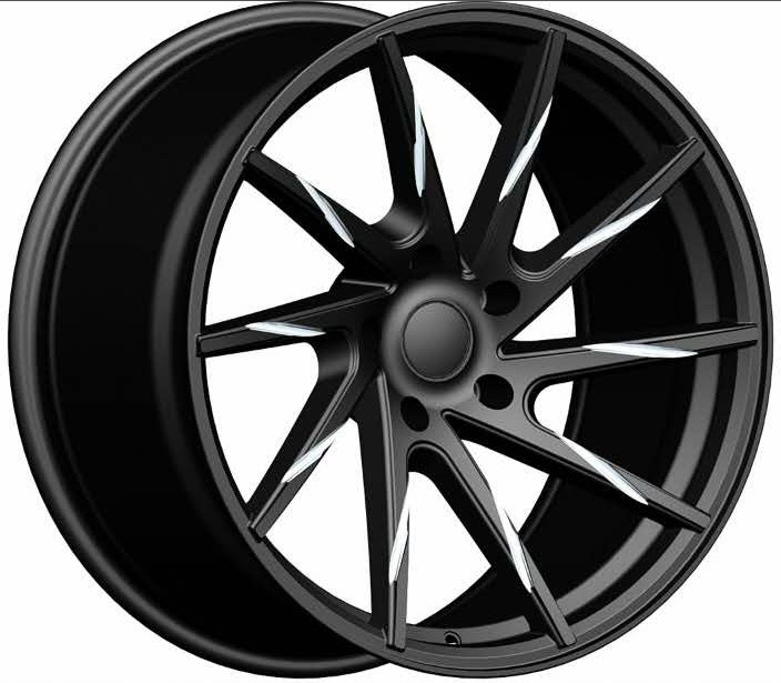 20 inch black milled <strong>alloy</strong> wheel rims