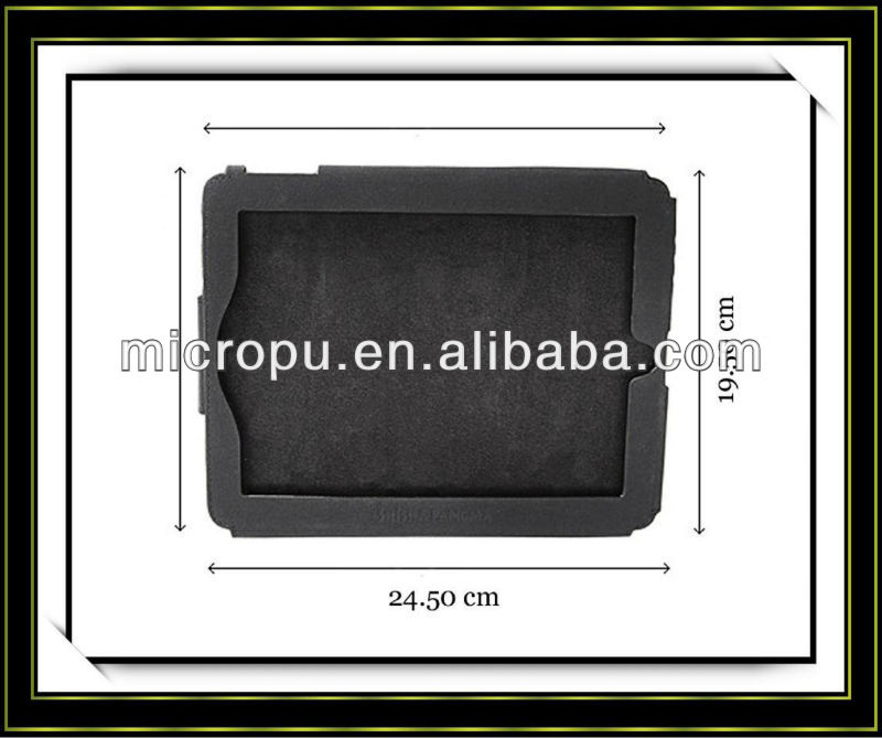 tablet PC protective sleeve micro pu leather material