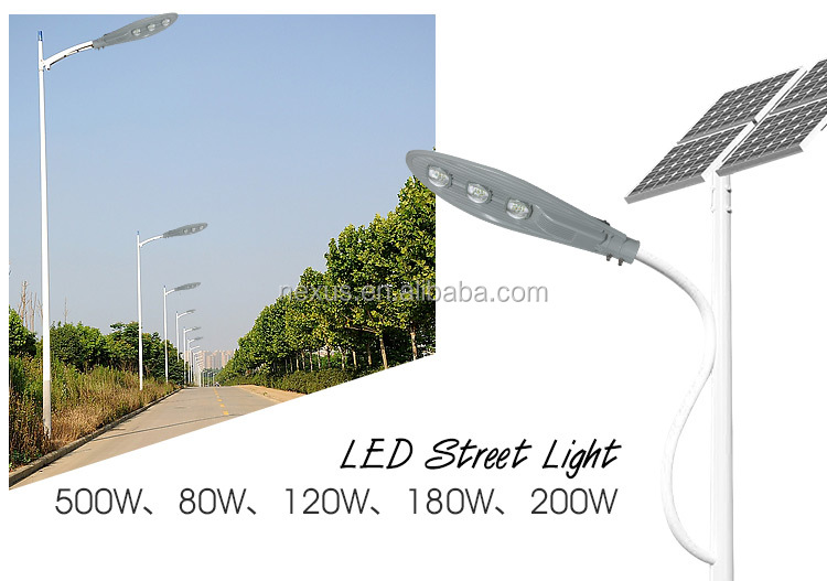 High quality COB 60w led street light with aluminum housing