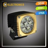 high quality factory price car parts auto spare 6063 aluminum 2years warranty car 48w led work light