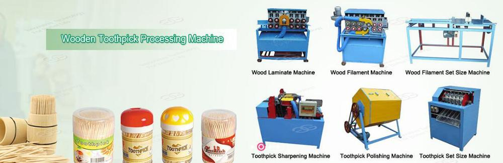 Hot Sale Bamboo Processing Making Machinery Wooden Toothpick Production Line