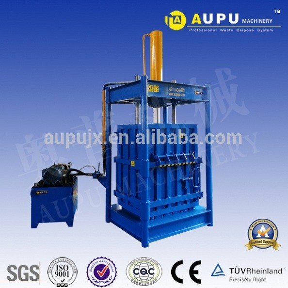scrap metal aluminum can baler machine