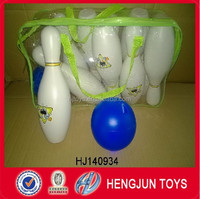 High quality kids sport outdoor sport toys, plastic bowling ball toy