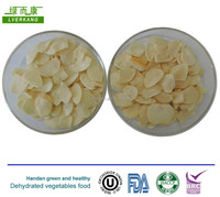 Rootless garlic flake,white A grade dehydrated dried sliced garlic