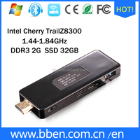 Dual - frenquency high speed cheery trial 8300 32G windows10 stick pc