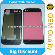 for iphone 4 colorful back cover glass,oem,cheap