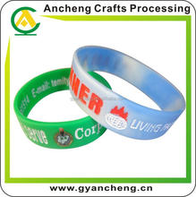 free design high quality blood circulation silicone wristband for holiday gifts