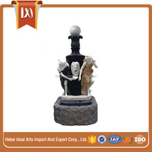 Outdoor decoration women water fountain
