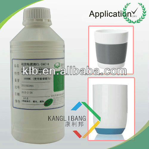 silicone label adhesive