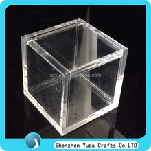 wholesale handmade lucite candy box,clear acrylic box,transparent plexiglass sweet gift box from china retail