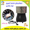 Automatic electric easy operate mini chicken plucker