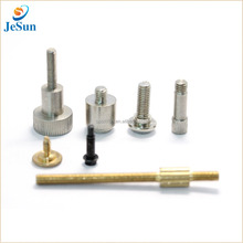 Dongguan Hardware Factory Sales Non Standard Metal Screw Brass Knurling Screw For Fitting