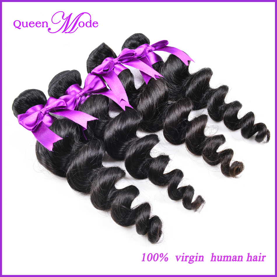 Best selling queen mode hair products human hair weaves in peruvian remy hair extensions