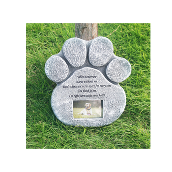 Resin Pet Memorial Stone Picture Photo Frames