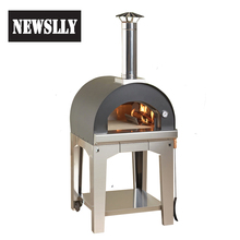 Outdoor Stainless Steel Burning Pizza Oven Dome Wood Fired Pizza Oven