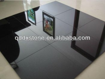 Polished cheap Shanxi Black Granite for flooring