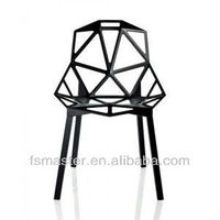 stackable Chair one designed by Konstantin Grcic aluminium relica chair one