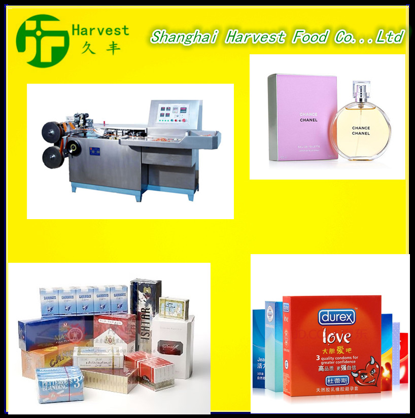 High Quality Automatic Tea Box Cellophane Packaging Machine