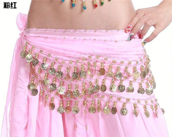 More Coins Professional Belly Dance Waist Belts For Wholesale