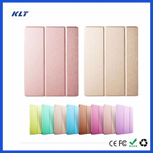 KLT OEM Wholesaler Fold 360 Rotating On/Off New PU Leather Case Cover For Apple For iPad 6 Air 1 2 3 Flip mini 1 2 3 4 Pro