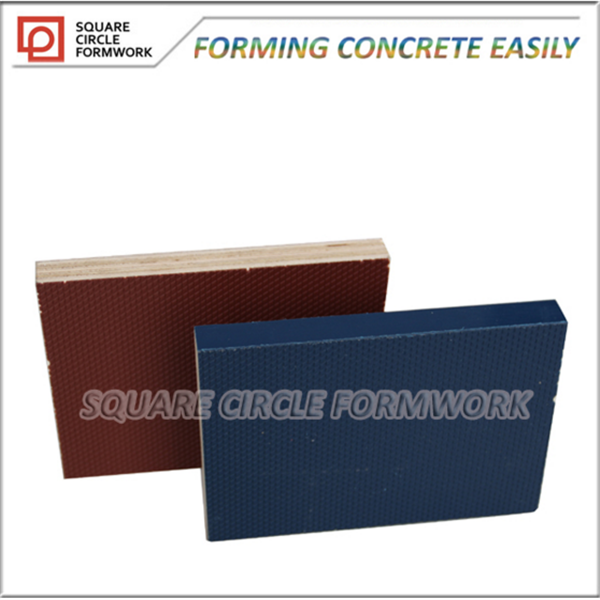 Reusable 100 times wooden board plastic price of laminated plywood