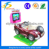 guangzhou made electronic operated kiddy ride game machine Classic car amusement park equipment