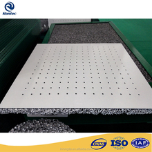 Acoustic composite metal aluminum foam panel for interior and outdoor construction building