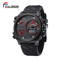 Good Quality watch china plastic waterproof all black watches for men