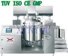 XY-B-250L cream vacuum emulsifier mixer (top stage )