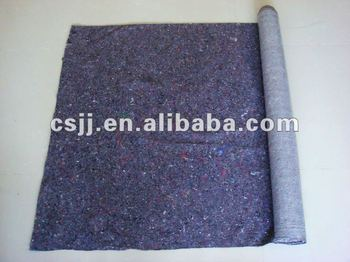 As Nonwoven Manufacturer to Produce Slip-Resistant PE film coated felt fabric