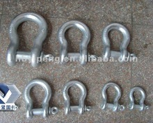 adjustable shackle with clevis pin (round pin anchor shackles) (shackles key chain)