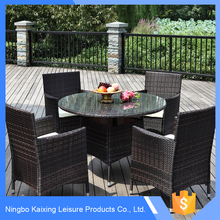 Rattan Outdoor Garden Wholesale round table dining