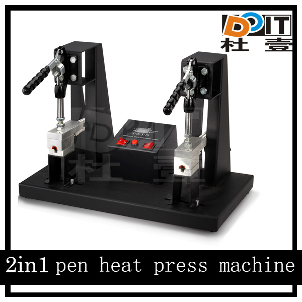 Manual pen hot stamping machine for sublimation plastic/metal pen