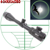 6-24X50AOEG Hunting Equipment zoom Riflescope with red dot